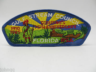 Boy Scout BSA CSP Patch - Gulf Stream Council Florida - 75th Anniversary