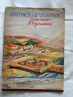 Hastings And St Leonards Souvenir Programme