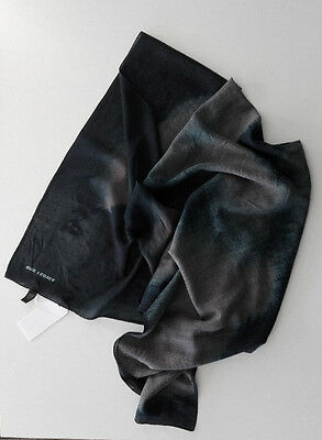 """Our Legacy Scarf """"Ink Dash"""" Wool/Silk Norse Schal SNS Made in Italy"""