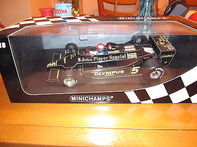 Lotus Ford 79 M. Andretti 1978 World Champion 1/18 Minichamps Full Livery Decals