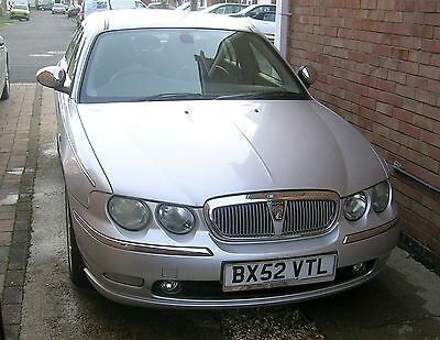 Rover 75 2.0 CDTi  Connoisseur Silver with Charcoal Leather BMW engine.