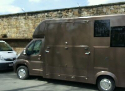 3.5ton horsebox  ramp made to measure + conversion  from scratch