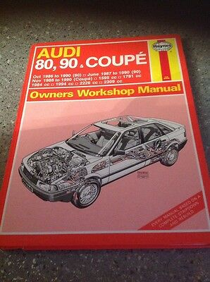 audi 80. 90. & coupe workshop manual