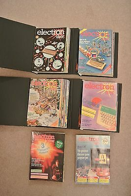Acorn Electron User Vintage Magazines from 1st Issue in 1983 to July 1990 VGC
