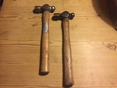 2 Whitehouse Vintage Ball Pein Hammers