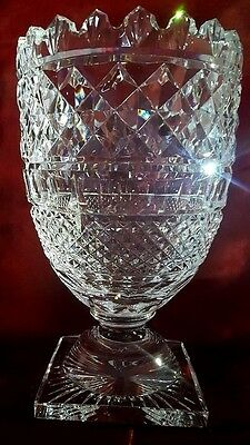 Waterford Crystal Footed Centerpiece Vase