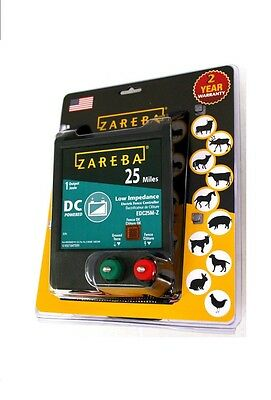 Zareba 25 Mile Fence Charger DC Battery Operated