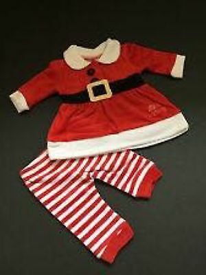 baby santa outfit bnwt, 3-6 months