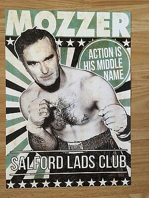 MORRISSEY - SALFORD LADS CLUB POSTER - 99p START !!!!