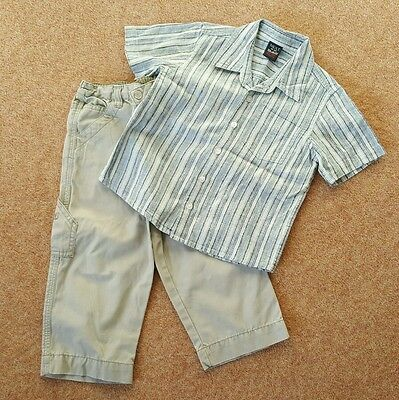Boys Next shirt and trouser set age 2 years