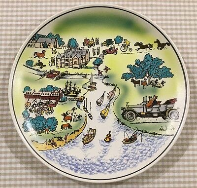 Poole Pottery Decorative Plate by Thelwell