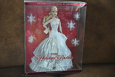 Holiday Barbie 2008- Collector Edition- Celebrating 20 Years- NIB