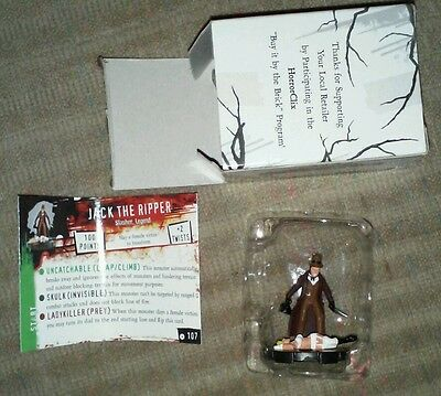 HorrorClix JACK THE RIPPER 2006 Collectors Edition MINT Never played NEW