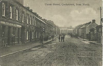 Union Street Cookstown, Co Tyrone, from North (featuring Railway Hotel)