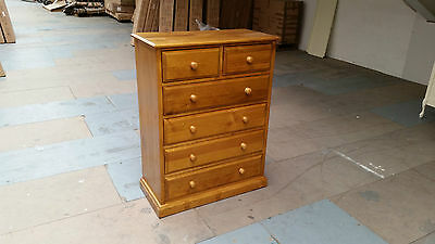Pine 2 Over 4 Large Chest
