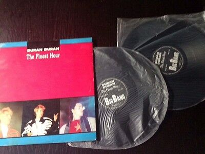 Duran Duran THE Finest Hour  vinile Promo 1987 live in London
