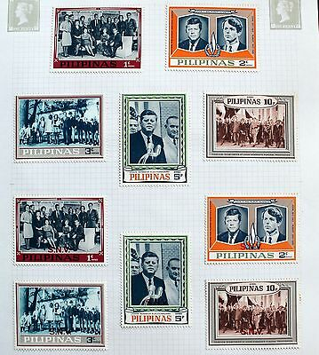 Philippines  - Seln. Of  MINT Pres. Kennedy / Human Rights – Perf/Imperf (CB1