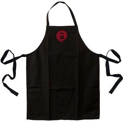 Black Master Chef Adults Apron
