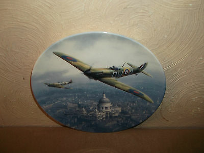 Royal Doulton Spitfire Over St Pauls Ltd Edition Plate