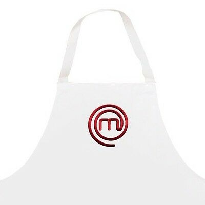 White Master Chef Adults Apron