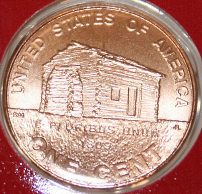 2009-D Lincoln Cent From Mint Set Birth Place #1 Satin Finish