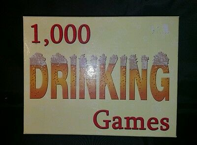1000 Drinking Games Board Game Adult 2004 NEW Trivia and Drinking