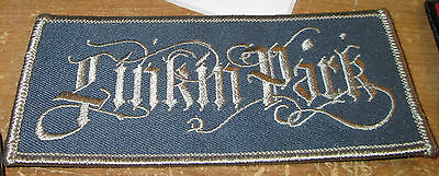 LINKIN PArk COLLECTABLE RARE VINTAGE PATCH EMBROIDED 2006 METAL LIVE