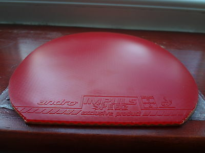 used table tennis rubber Andro Impuls Speed  W148mm x H155mm