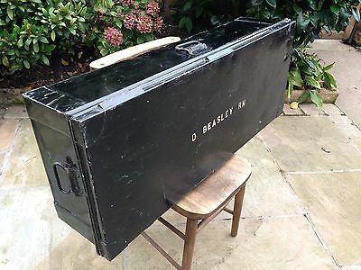 Antique/vintage  Royal Navy Storage Chest/Trunk