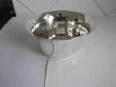 Vintage Solid Silver Sugar Bowl Hm Shef 1917 Weight 108.2 Grams By Wiliam Hutton