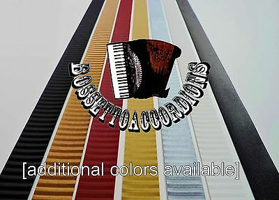 Accordion Bellows Tape 24mm With Stripes (Ribbon) Assorted Colors and Lengths