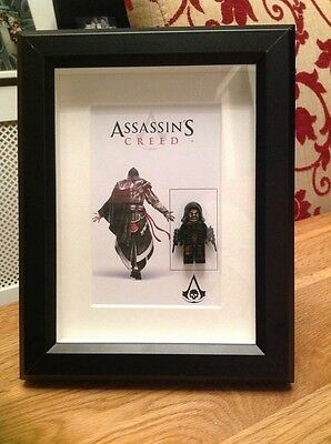 Lego Inspired Assassins Creed Figure Framed