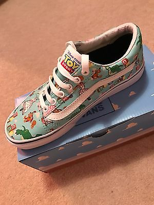 Toy Story Vans Size 4 Brand New