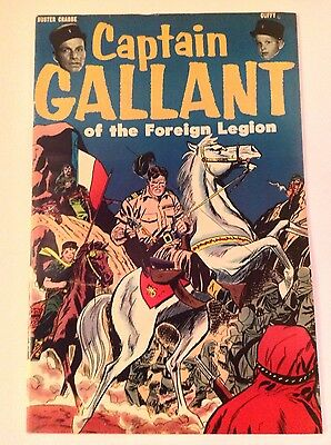 Captain Gallant and the Foreign Legion #1 - Heinz Give Away - NM-