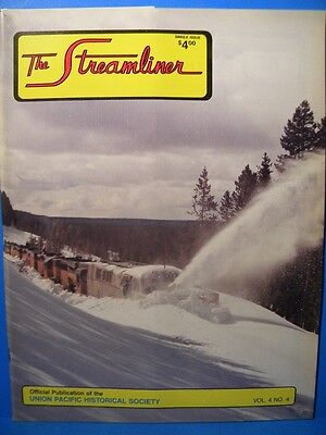 UP The Streamliner Volume 4 #4 Union Pacific Historical Society