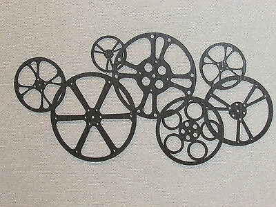 Large Movie Reels Cinema Theater Wall Decor Art