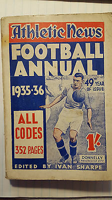 The Athletic News Football Annual 1935-36