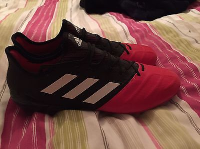 Adidas Ace 17.1 Leather FG Football Boots Size 8.5