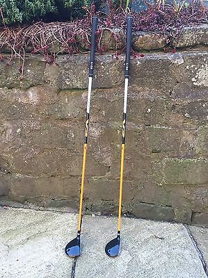 Ping G10 3 and 5 Woods - V2 Regular Shafts. Right Hand