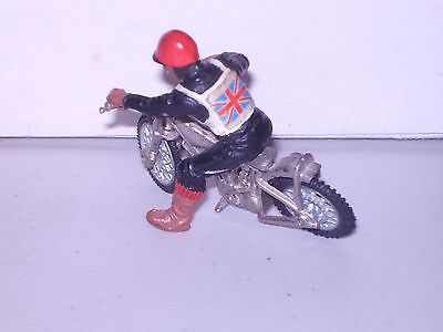 Britains motorcycle speedway BIKE and RIDER as seen