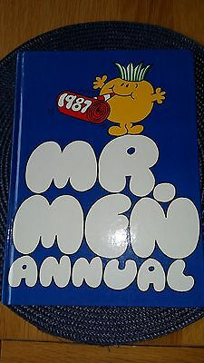 "1987 "" Mr Men"" Annual In Good Condition"