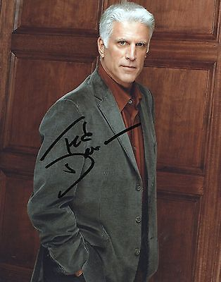 Ted Danson Cheers, CSI, Becker Genuine signed 8x10 Photo Comes With COA