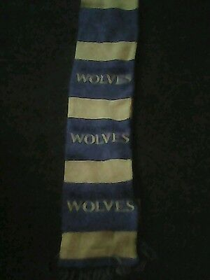 Warrington wolves rugby scarf good condition