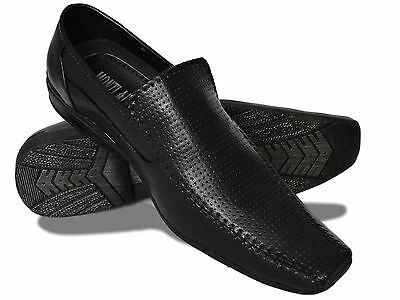 New Mens Smart Loafer Slip-On Casual Dress Shoes Footwear Wedding Office Size-42