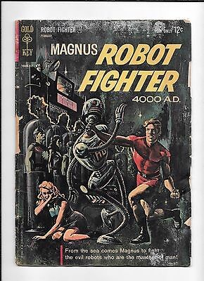 Magnus Robot Fighter #1 ==  Gd 1St Appearance Issue Gold Key 1963
