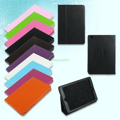 Folio Magnetic PU Leather Ultra Thin Stand Cover Case For Apple iPad Mini Tablet