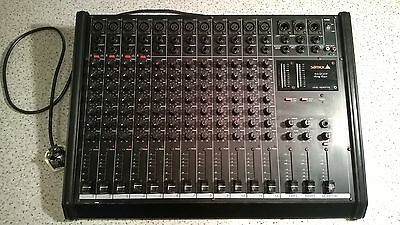 Samick Sm1200P 12 Channel Stereo Mixing Consol