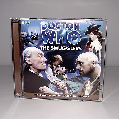 BBC Radio Doctor Who The Smugglers Audio 2 CD Soundtrack Lost Episodes Hartnell