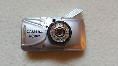 *RARE* VINTAGE NOVELTY GAS LIGHTER,'OLYMPUS CAMERA' Collectible,Stocking Filler
