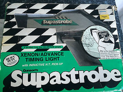 "Boxed Gunsons ""Supastrobe"" Xenon Advanced Timing Light Gun"